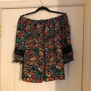 New York & Co Off the shoulder blouse.
